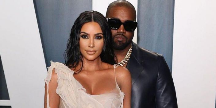 """Kim and Kanye Are Reportedly staying on """"Opposite Ends of the House"""""""