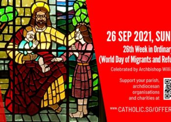 Catholic Sunday Mass Today 26th September 2021 By Archdiocese of Singapore
