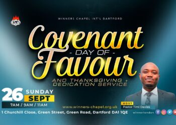 Winners Chapel Live Service Sunday 26 September 2021 Covenant Day Of Favour